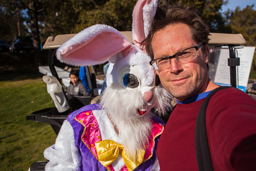 Easter bunny and bryan farley-8482